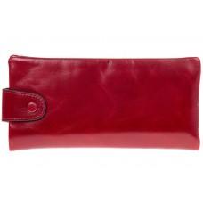 На фото 1 - Вертикальное портмоне красного цвета 6018