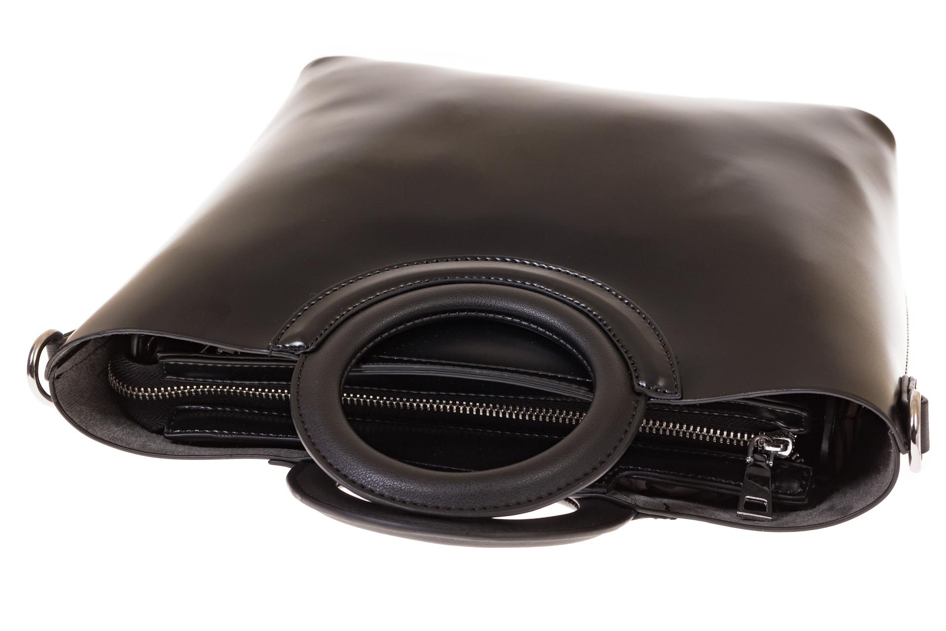 На фото 4 - Ring bag из искусственной кожи