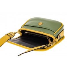 На фото 3 - Миниатюрная сумочка из искусственной кожи, цвет лимон