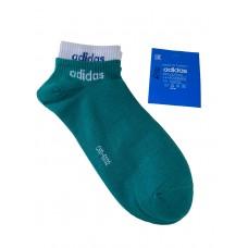 На фото 1 - Спортивные женские носки с манжетами, цвет зелёный