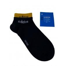 На фото 1 - Спортивные женские носки с манжетами, цвет чёрный