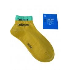 На фото 1 - Спортивные женские носки с манжетами, цвет горчичный