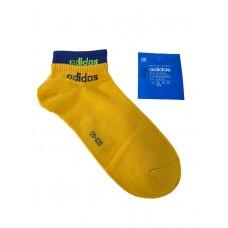 На фото 1 - Спортивные женские носки с манжетами, цвет жёлтый