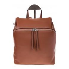 На фото 2 - Коричневый женский рюкзак из натуральной кожи 6115AR