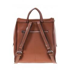 На фото 3 - Коричневый женский рюкзак из натуральной кожи 6115AR