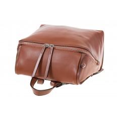 На фото 4 - Коричневый женский рюкзак из натуральной кожи 6115AR