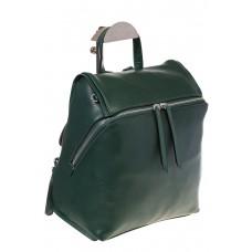 На фото 1 - Зеленый женский рюкзак из натуральной кожи 6115AR