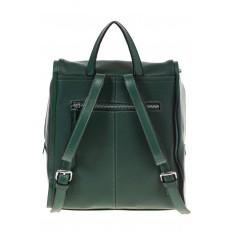 На фото 3 - Зеленый женский рюкзак из натуральной кожи 6115AR