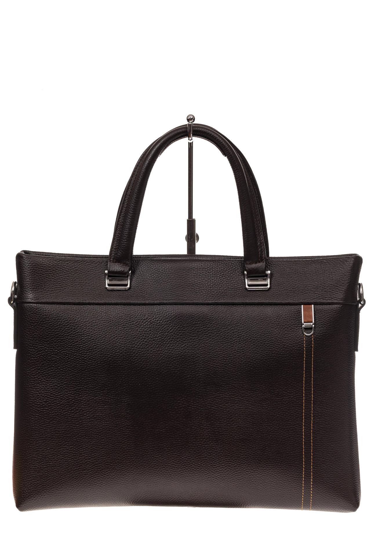 На фото 2 - Мужской деловой портфель из натуральной кожи