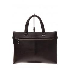 На фото 3 - Мужской деловой портфель из натуральной кожи