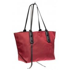 На фото 1 - Сумка из текстиля, цвет красный