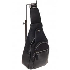 На фото 1 - Мужской неформальный sling bag из натуральной кожи