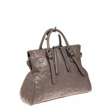 На фото 1 - Модная женская сумка из натуральной кожи, ц...
