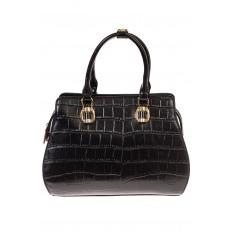 На фото 2 - Женская сумка из эко-кожи с тиснением