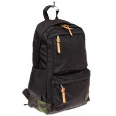 На фото 1 - Мужской рюкзак для города, цвет черный