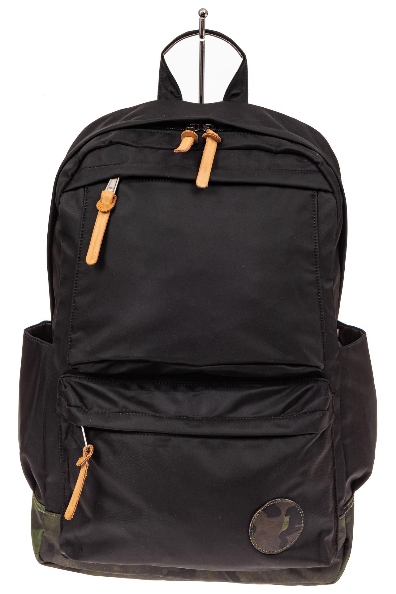 На фото 2 - Мужской рюкзак для города, цвет черный