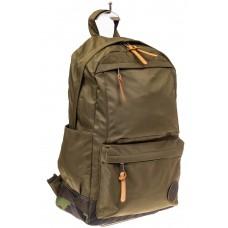 На фото 1 - Мужской рюкзак для города, цвет хаки