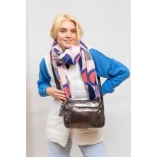 На фото 1 - Молодёжная  сумка из экокожи, цвет кобальт