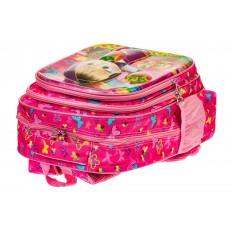 На фото 3 - Большой школьный рюкзак, цвет фуксия