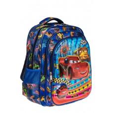 На фото 1 - Большой школьный рюкзак, цвет синий