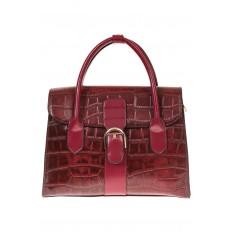 На фото 2 - Женская сумка-портфель из эко-кожи