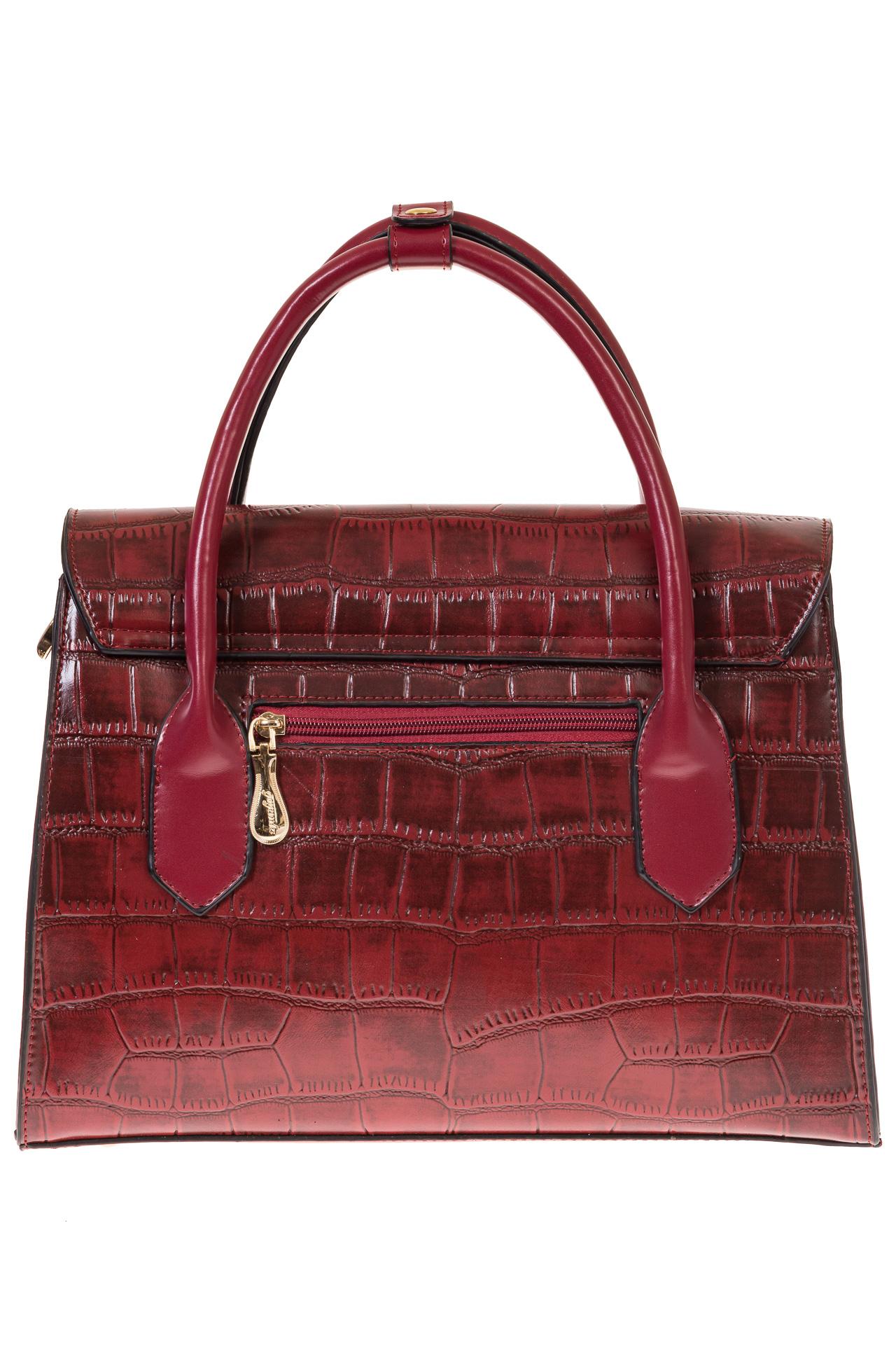 На фото 3 - Женская сумка-портфель из эко-кожи