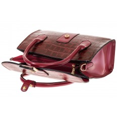 На фото 4 - Женская сумка-портфель из эко-кожи