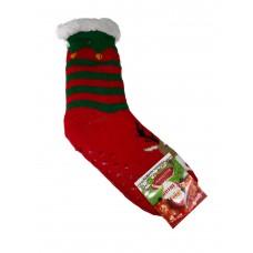 На фото 1 - Новогодние подарочные носки, мультицвет