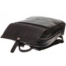 На фото 4 - Черная мужская сумка из искусственной кожи