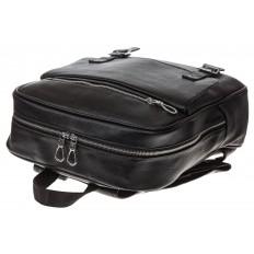 На фото 4 - Мужской городской рюкзак из искусственной кожи