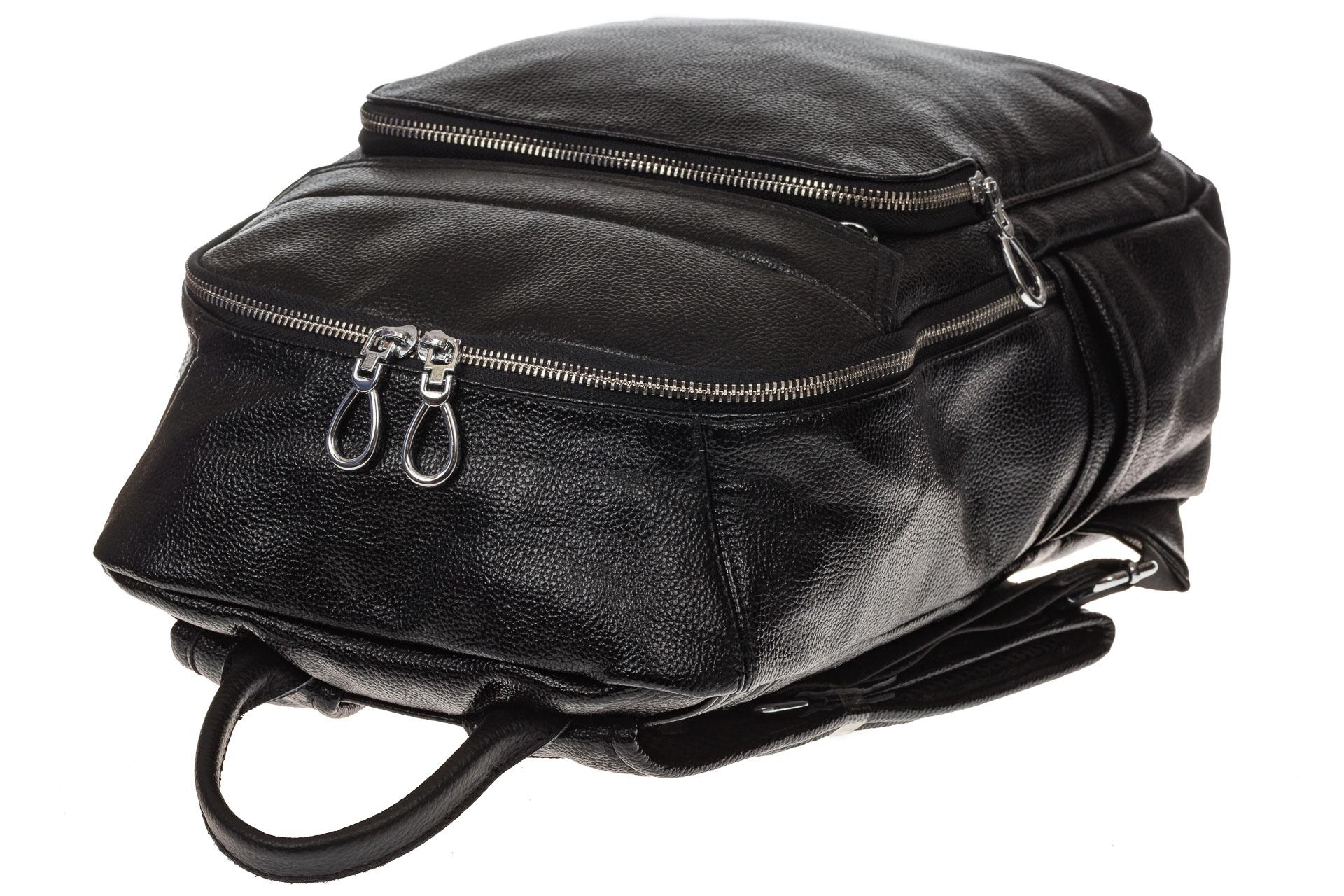 На фото 4 - Мужской рюкзак из искусственной кожи
