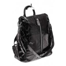 На фото 1 - Большой городской рюкзак из искусственной к...