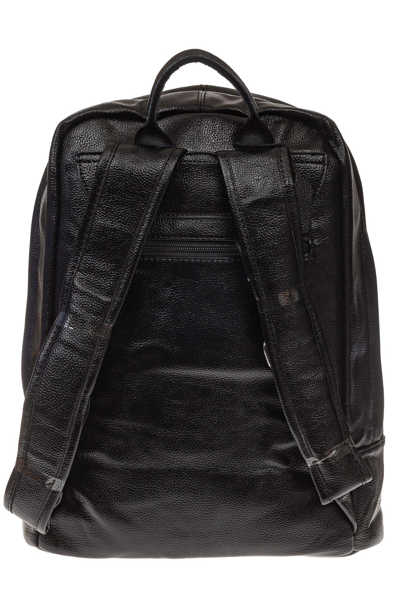 На фото 3 - Мужской рюкзак из искусственной кожи