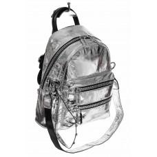 На фото 1 - Классический городской рюкзак из искусствен...