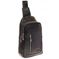 На фото 1 - Мужской sling bag из натуральной кожи 6872MM5