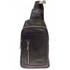 На фото 2 - Мужской sling bag из натуральной кожи 6872MM5