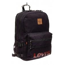 На фото 1 - Городской рюкзак мужской из ткани, цвет синий