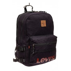 На фото 1 - Городской рюкзак мужской из ткани, цвет син...