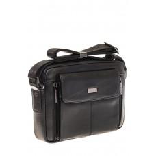 На фото 1 - Мужская сумка-барсетка из натуральной кожи ...