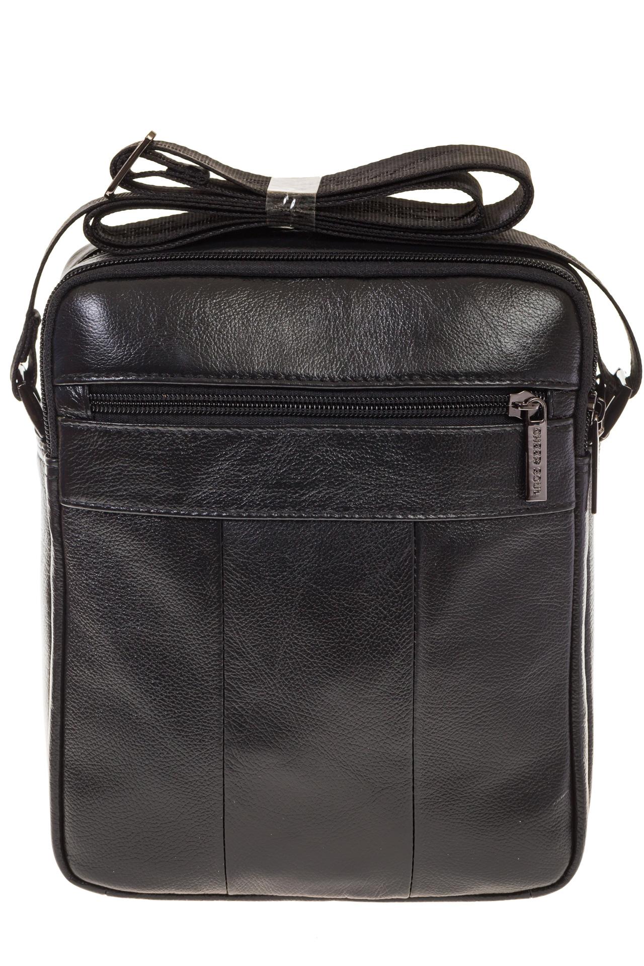 На фото 3 - Мужская сумка из натуральной кожи 7007MM5