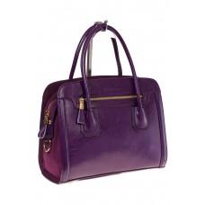 На фото 1 - Классическая женская сумка из натуральной кожи