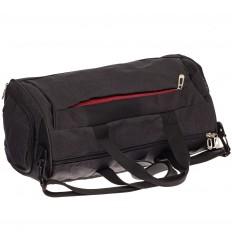На фото 3 - Вместительная дорожная сумка, цвет серый