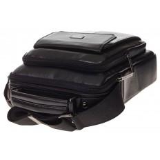 На фото 4 - Мужская горизонтальная сумка из натуральной кожи