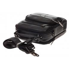 На фото 4 - Мужская сумка каскадного типа из натуральной кожи