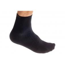 На фото 1 - Качественные носки мужские, хлопок, размер 25-28, цвет темно-серый