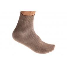 На фото 1 - Качественные носки мужские, хлопок, размеры 25-28, бежевые. От 1 пары