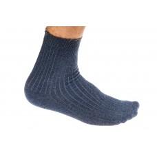 На фото 1 - Качественные носки мужские, хлопок, размеры 25-28, синие. От 1 пары