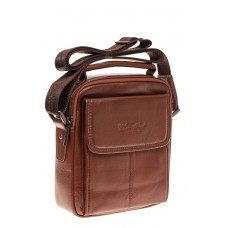 На фото 1 - Мужская сумка с клапаном на каждый день, на...