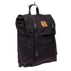 На фото 1 - Городской рюкзак мужской из ткани, цвет чер...