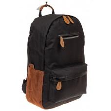 На фото 1 - Большой мужской рюкзак для города, цвет чер...
